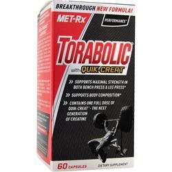 Met-Rx Torabolic with Quik-Creat 60 caps