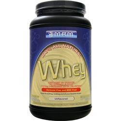 MRM 100% All Natural Whey Unflavored 2.03 lbs