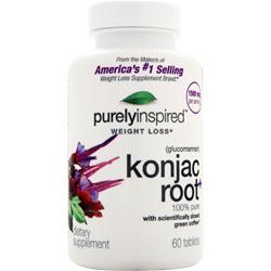 Iovate Purely Inspired - Konjac Root  EXPIRES 4/1/16 60 tabs