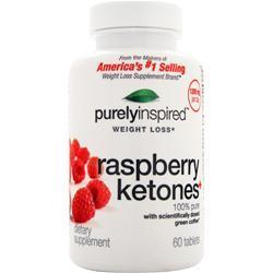 Iovate Purely Inspired - Raspberry Ketones  EXPIRES 4/1/16 60 tabs