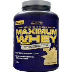 MHP Maximum Whey Vanilla Milkshake 5 lbs