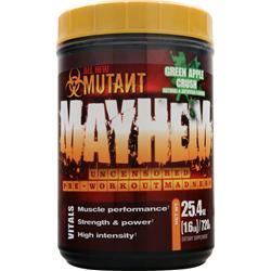 FIT FOODS Mutant Mayhem Green Apple Crush 1.6 lbs