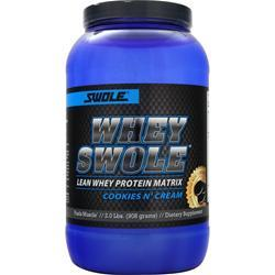 SWOLE Whey Swole Advanced Whey Protein Matrix Cookies n' Cream 2 lbs