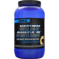 Swole Whey Swole Advanced Whey Protein Matrix Cookies n' Cream EXPIRES 5/17 2 lbs