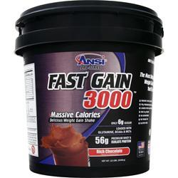 ANSI Fast Gain 3000 Rich Chocolate 12 lbs