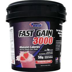 ANSI Fast Gain 3000 Strawberries & Cream 12 lbs