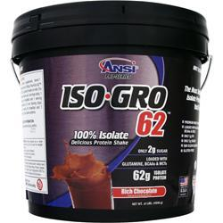 ANSI Iso-Gro 62 Rich Chocolate 10 lbs