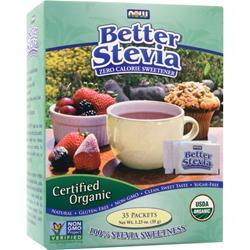 NOW Better Stevia - Certified Organic 35 pckts