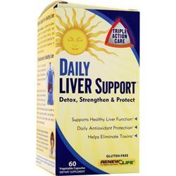 RENEW LIFE Daily Liver Support 60 vcaps