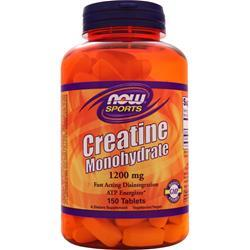 NOW Creatine Monohydrate (1200mg) 150 tabs