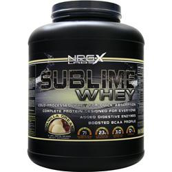 NRG-X LABS Sublime Whey Vanilla Dream 5 lbs