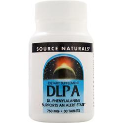 Source Naturals DLPA (750mg) 30 tabs