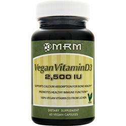 MRM Vegan Vitamin D3 (2,500IU) 60 vcaps