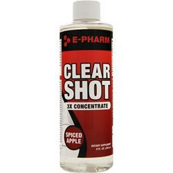 E-PHARM Clear Shot 3x Concentrate Lemon Insanity 8 fl.oz