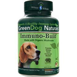 GREEN DOG NATURALS Immuno-Build 60 vcaps