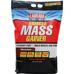 LABRADA Muscle Mass Gainer Chocolate 12 lbs