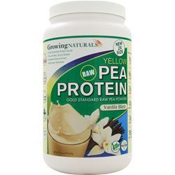 GROWING NATURALS Raw Yellow Pea Protein Vanilla Blast 950 grams