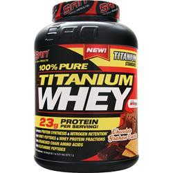 SAN 100% Pure Titanium Whey Chocolate Graham Cracker 5.01 lbs