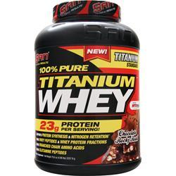 SAN 100% Pure Titanium Whey Chocolate Rocky Road 4.98 lbs