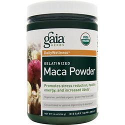 GAIA HERBS Maca Powder - Gelatinized 16 oz