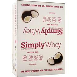 THE SIMPLY BAR Simply Whey Bar Coconut 12 bars