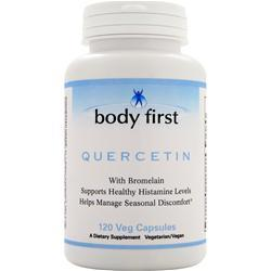 BODY FIRST Quercetin with Bromelain 120 vcaps