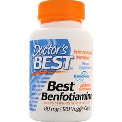 Doctor's Best Best Benfotiamine (80mg) 120 vcaps