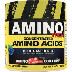 Con-Cret Amino Tren - Concentrated Amino Acids Blue Raspberry 5.3 oz