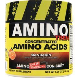 Con-Cret Amino Tren - Concentrated Amino Acids Mandarin 5.3 oz
