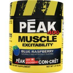 CON-CRET Peak 400 - Muscle Excitability Blue Raspberry 1.27 oz