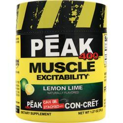 Con-Cret Peak 400 - Muscle Excitability Lemon Lime 1.27 oz