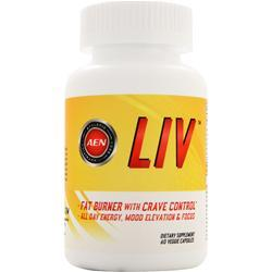 ATHLETIC EDGE NUTRITION Liv - Fat Burner with Crave Control 60 vcaps