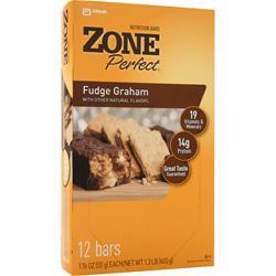 ZONE PERFECT Nutrition Bar Fudge Graham 12 bars