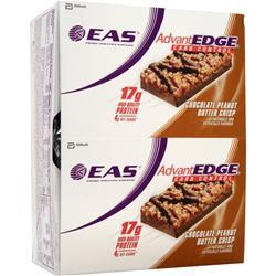 EAS AdvantEdge Carb Control Bar Chocolate PB Crisp 12 bars