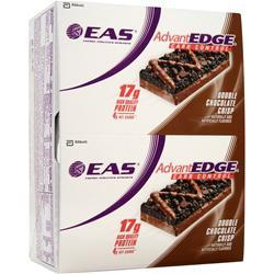 EAS AdvantEdge Carb Control Bar Double Chocolate Crisp 12 bars
