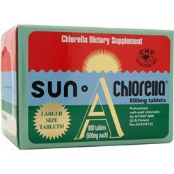 Sun Chlorella Sun Chlorella (500mg) J-5 600 tabs