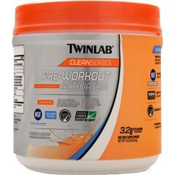 TWINLAB Clean Series - Pre Workout Activator Natural Citrus 1 lbs