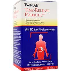 TWINLAB Time-Release Probiotic Best by 4/15 30 tabs