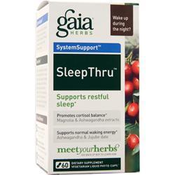 Gaia Herbs SleepThru 60 vcaps