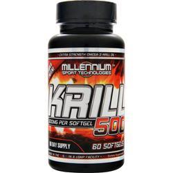 MILLENNIUM SPORTS Krill 500 Best by 3/15 60 sgels
