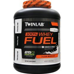 TWINLAB 100% Whey Fuel - Lean Muscle Cookies & Cream 5 lbs