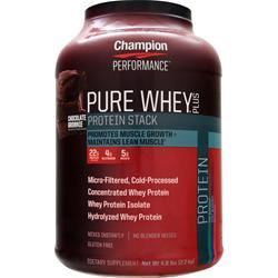 Champion Nutrition Pure Whey Plus Chocolate Brownie 4.8 lbs