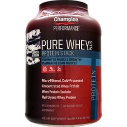 CHAMPION NUTRITION Pure Whey Plus Cookies & Cream 4.8 lbs