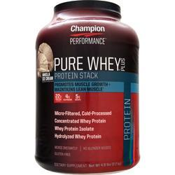 Champion Nutrition Pure Whey Plus Vanilla Ice Cream 4.8 lbs