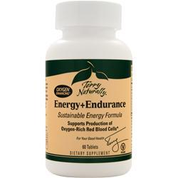 EUROPHARMA Terry Naturally - Energy + Endurance 60 tabs