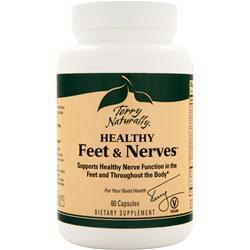 EuroPharma Terry Naturally - Healthy Feet & Nerves 60 caps