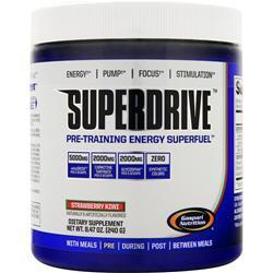 GASPARI NUTRITION SuperDrive Strawberry Kiwi 240 grams