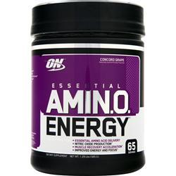 OPTIMUM NUTRITION Essential AMIN.O. Energy Concord Grape 1.29 lbs