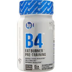 BPI B4 - Fat Burner Pre Trainer 30 caps
