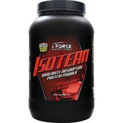 IFORCE Isotean - Whey Protein Isolate Strawberries & Cream 2 lbs